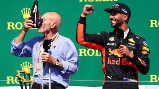 Patrick Stewart et Daniel Ricciardo