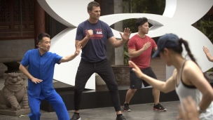Tom Brady de passage en Chine!