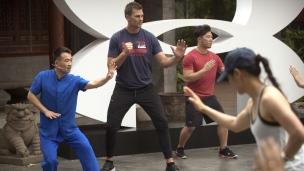 Tom Brady de passage en Chine!