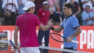 Roger Federer l'emporte au 1er tour en Allemagne