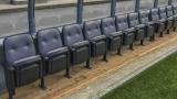 Les bancs des joueurs du Stade Saputo