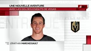 Jonathan Marchessault fébrile à l'idée de se joindre aux Golden Knights