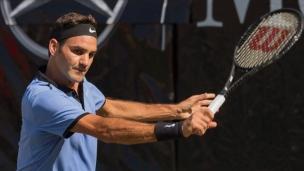 Federer en demi-finale à Halle