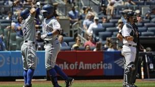 Rangers 8 - Yankees 1