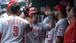 Reds 6 - Nationals 2