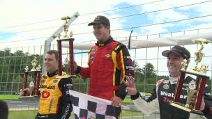 Une victoire pour le jeune prodige Cayden Lapcevich