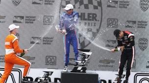 Dixon accentue son avance en Indy Car