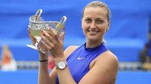 Kvitova retrouve son aplomb à Birmingham