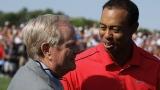 Jack Nicklaus et Tiger Woods