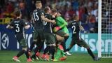 L'Allemagne célèbre son triomphe aux dépens de l'Angleterre
