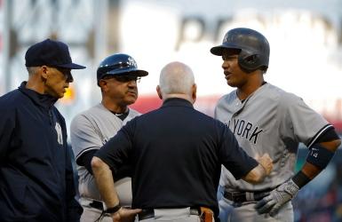 Yankees : Starlin Castro sur la touche