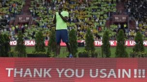 Bolt poursuit sa tournée d'adieu en beauté