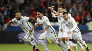 Portugal 0 (0) - Chili 0 (3)