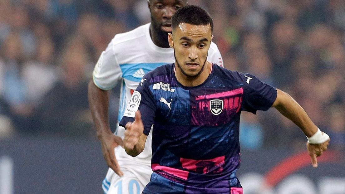 Adam Ounas va signer à Naples pour cinq ans — Foot Afrique Bordeaux