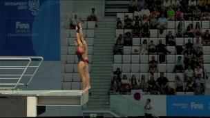 Benfeito et Zsombor-Murray 5e au 10 mètres en plongeon synchronisé mixte