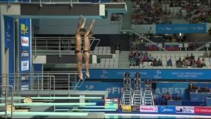 Imbeau-Dulac et Gagné au neuvième rang au 3 mètres en plongeon synchronisé
