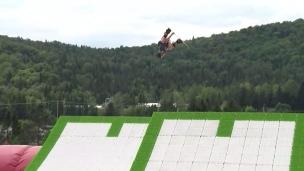 Le ski et la planche à neige même en été