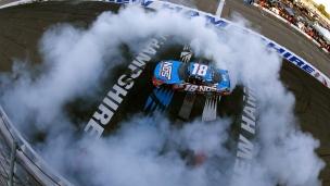 NASCAR : Kyle Busch est roi au New Hampshire