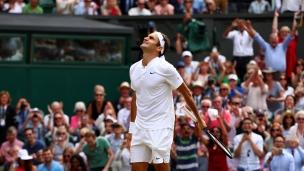 Roger Federer réécrit l'histoire à Wimbledon