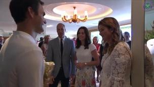 Des félicitations royales pour Federer
