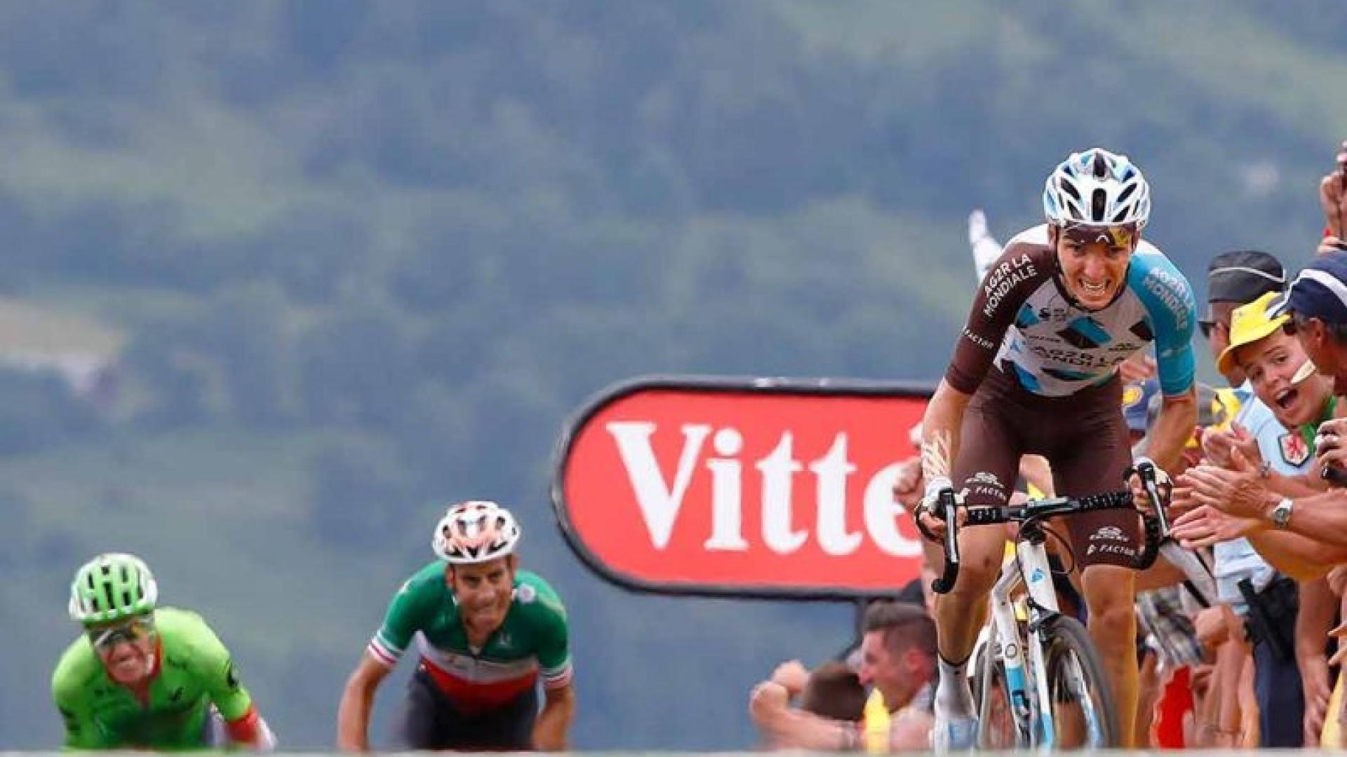 Romain Bardet, vainqueur à Peyragudes