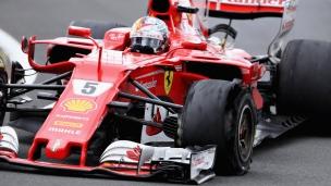 Fin de semaine à oublier pour Vettel à Silverstone