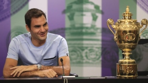 Roger Federer a bien célébré sa 8e victoire à Wimbledon