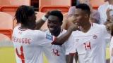 Samuel Adekugbe, Alphoso Davies et Mark-Anthony Kaye