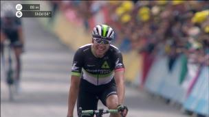 La 19e étape à Edvald Boasson Hagen