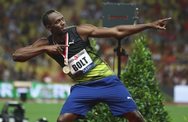 Encore Usain Bolt, record de Melissa Bishop