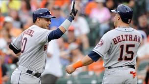 Astros 8 - Orioles 7