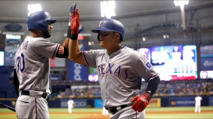 Rangers 4 - Rays 3 (10 manches)