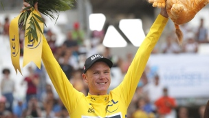 Chris Froome à une étape de remporter un 4e Tour de France