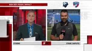 Ignacio Piatti et Laurent Ciman en poste face au FC Dallas