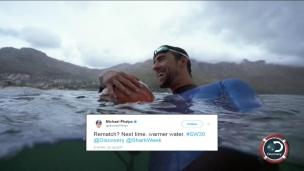 Phelps ne fait pas le poids contre un requin