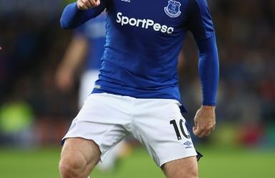 C3 : Rooney joue un 1er match avec Everton