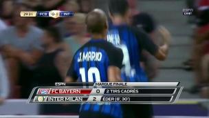 FC Bayern 0 - Inter Milan 2