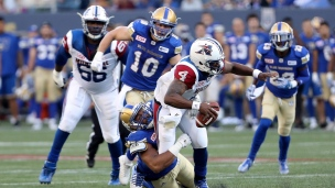Alouettes 40 - Blue Bombers 41