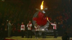 Une cérémonie haute en couleurs aux Jeux du Canada!