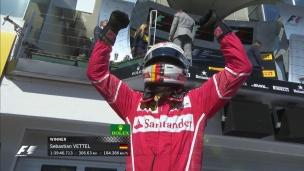 Vettel au sommet en Hongrie, Stroll termine 14e