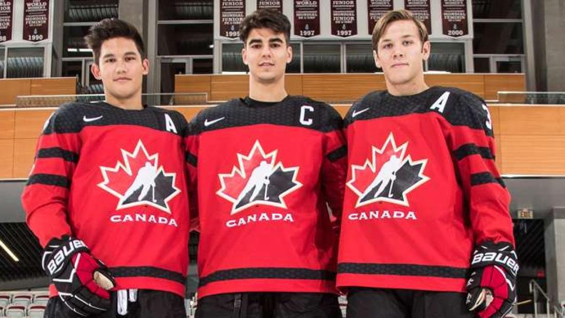 Joe Veleno capitaine du Canada à la Coupe Ivan Hlinka