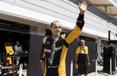 Kubica en essais avec Williams à Abou Dhabi