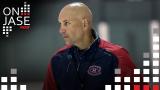 Sylvain Lefebvre, entraineur-chef du Rocket de Laval.