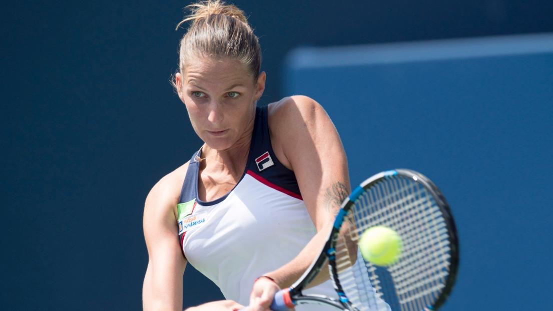 Karolina Pliskova accède aux quarts de finale — Coupe Rogers