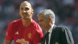 Zlatan Ibrahimovic et José Mourinho