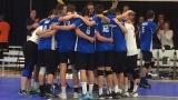 L'équipe masculine de volleyball du Québec