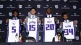 Les recrues de 2017-18 des Kings de Sacramento