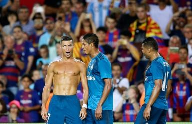 Ronaldo marque avant d'être expulsé