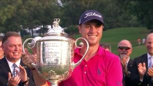 Justin Thomas remporte le Championnat de la PGA