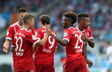 Le Bayern amorce la défense de son titre